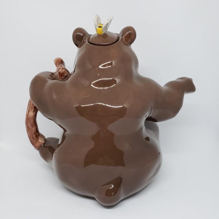 Bule chá urso marrom - Imagem: 4