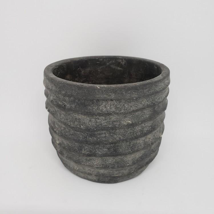 Cachepot cimento pequeno - Imagem: 1