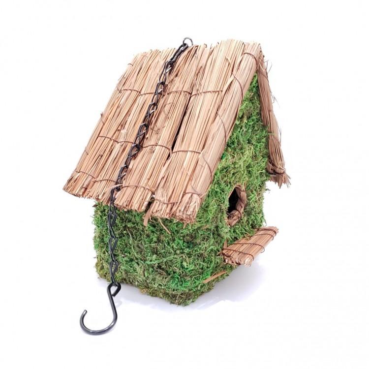 Casinha de passarinho musgo - Imagem: 2