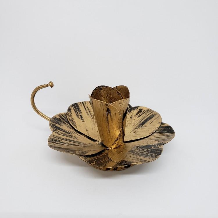 Castiçal dourado - Imagem: 1