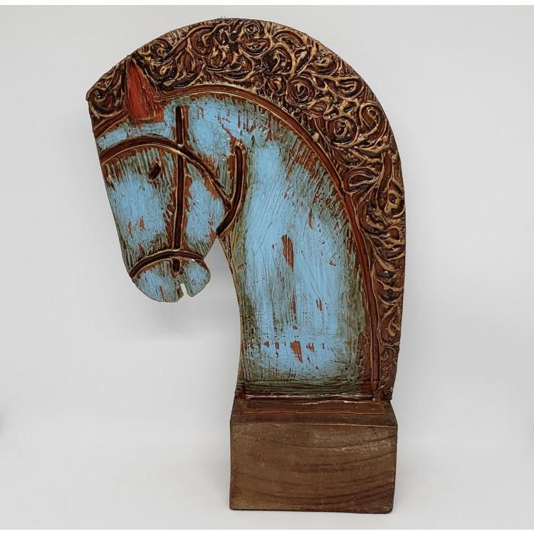 Escultura de mesa cavalo - Imagem: 1