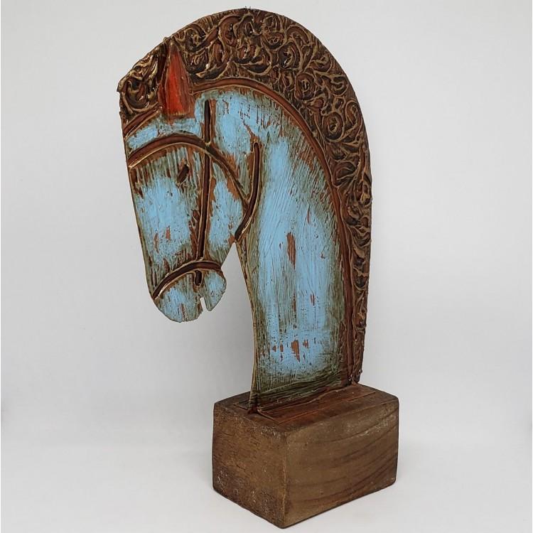 Escultura de mesa cavalo - Imagem: 2