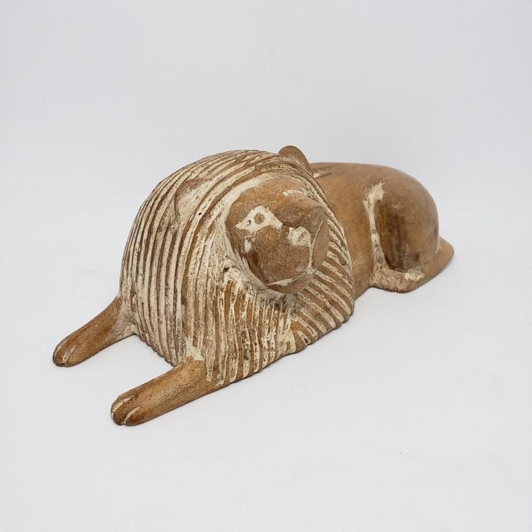 Leão em madeira - Imagem: 3