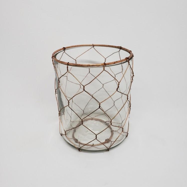 Luminária de vidro - Imagem: 1