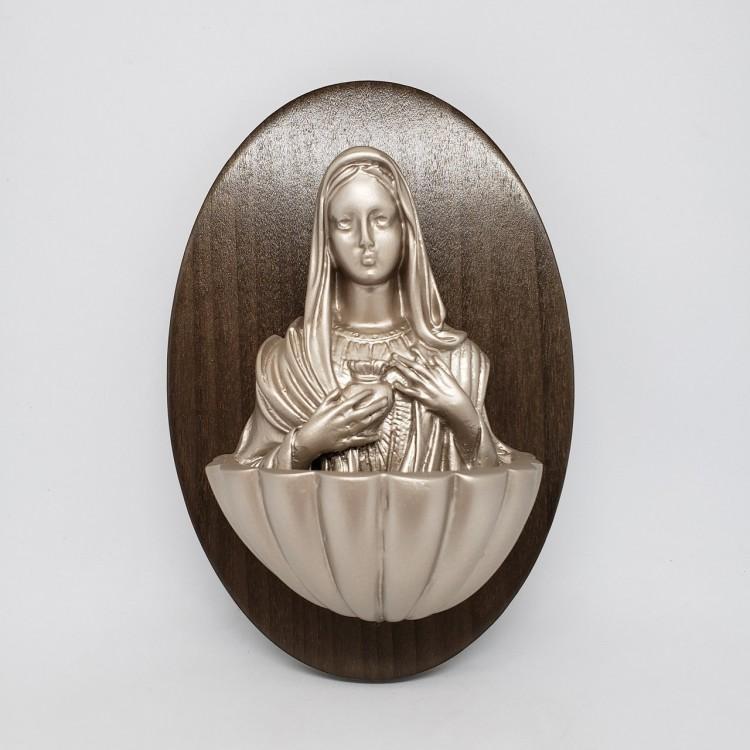 Pia água benta Sagrado Coração de Maria - Imagem: 1