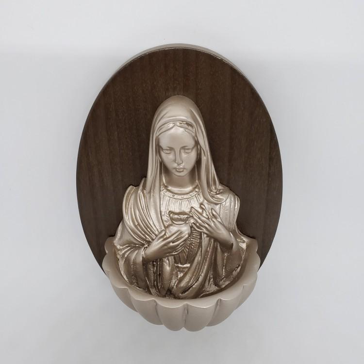 Pia água benta Sagrado Coração de Maria - Imagem: 2