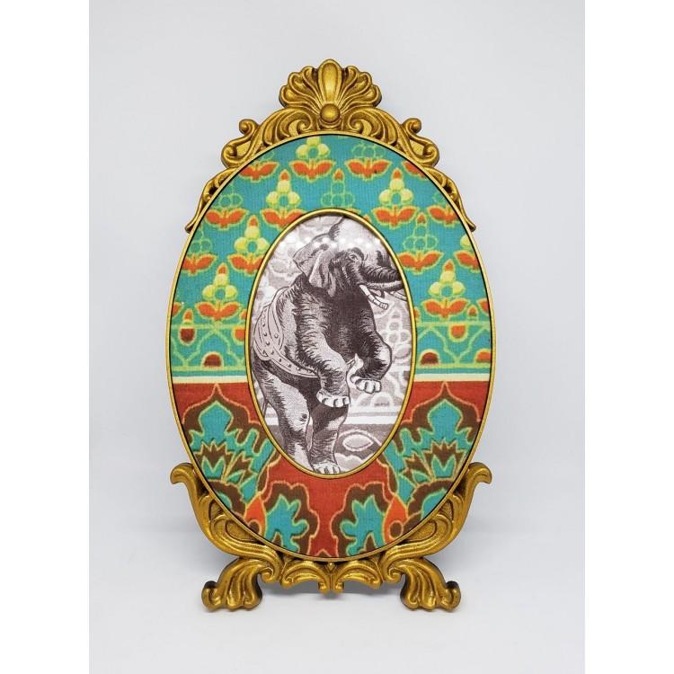Porta-retrato dourado - Imagem: 1