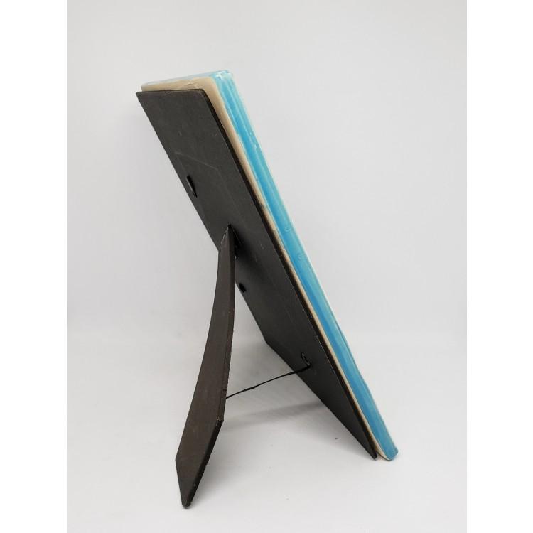 Porta-retrato cerâmica azul - Imagem: 2