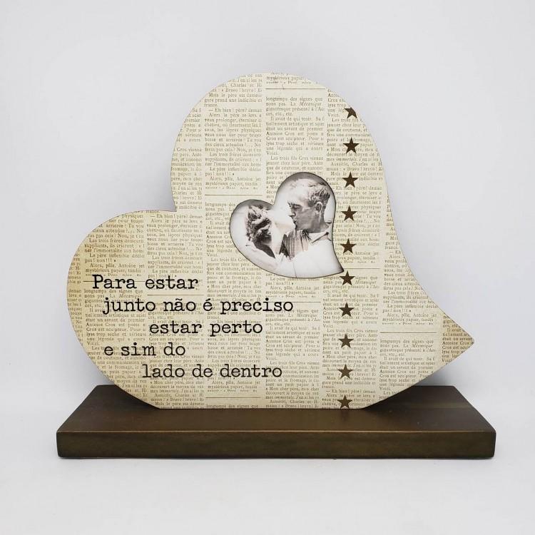 Porta-retrato coração - Imagem: 1