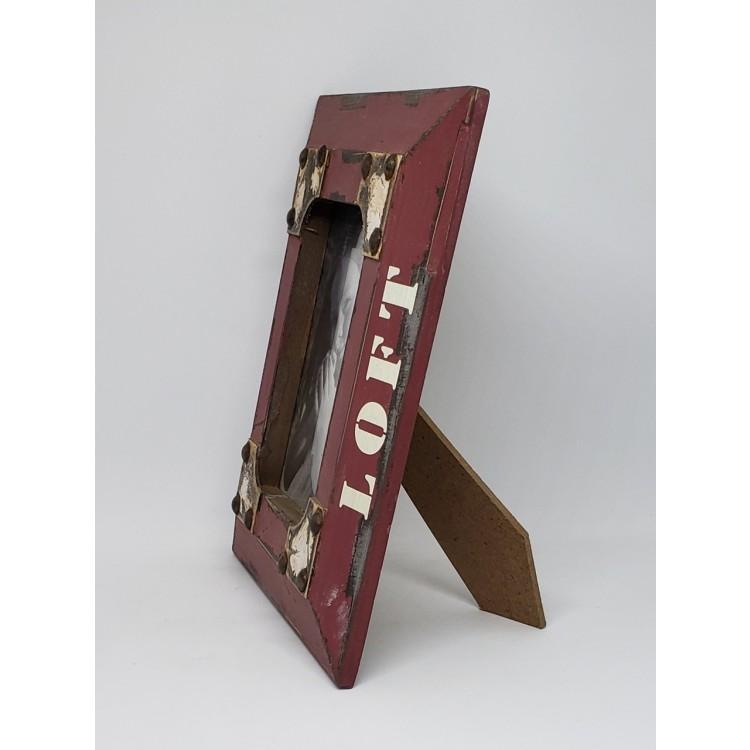 Porta-retrato madeira - Imagem: 2