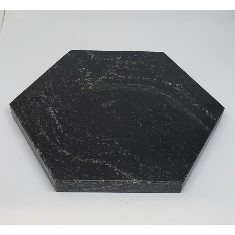 bandeja granito preta - Imagem: 1