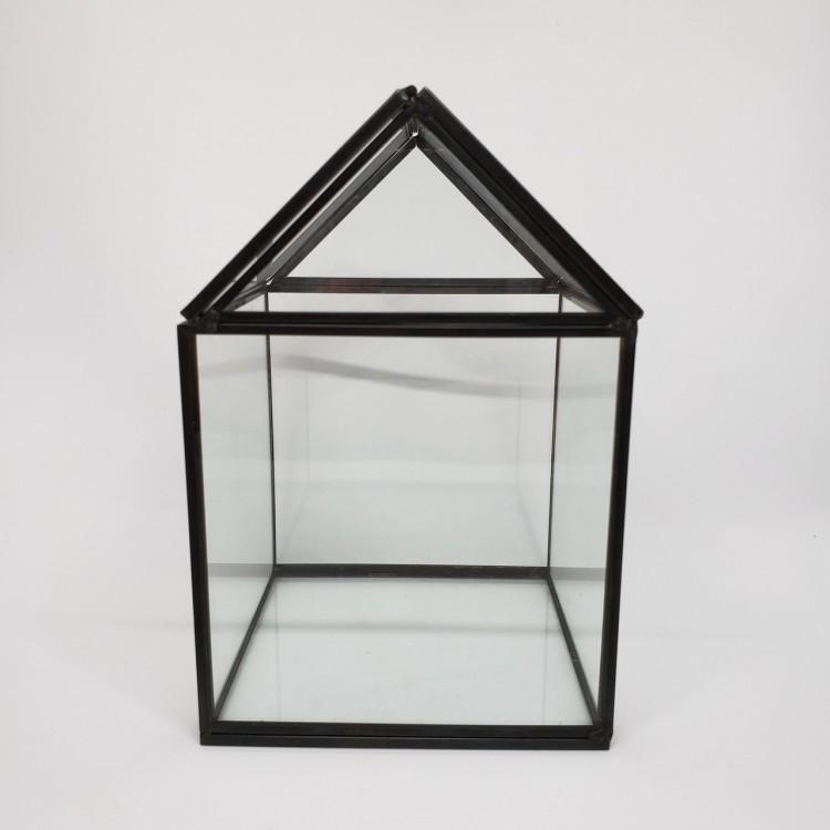 Mini terrário casinha - Imagem: 1