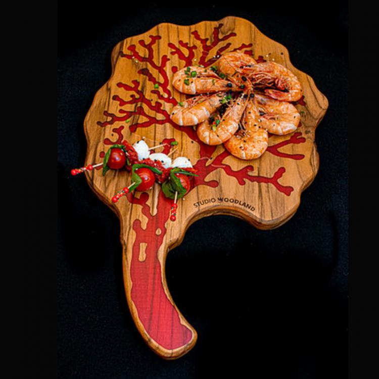 tábua coral vermelho - Imagem: 2