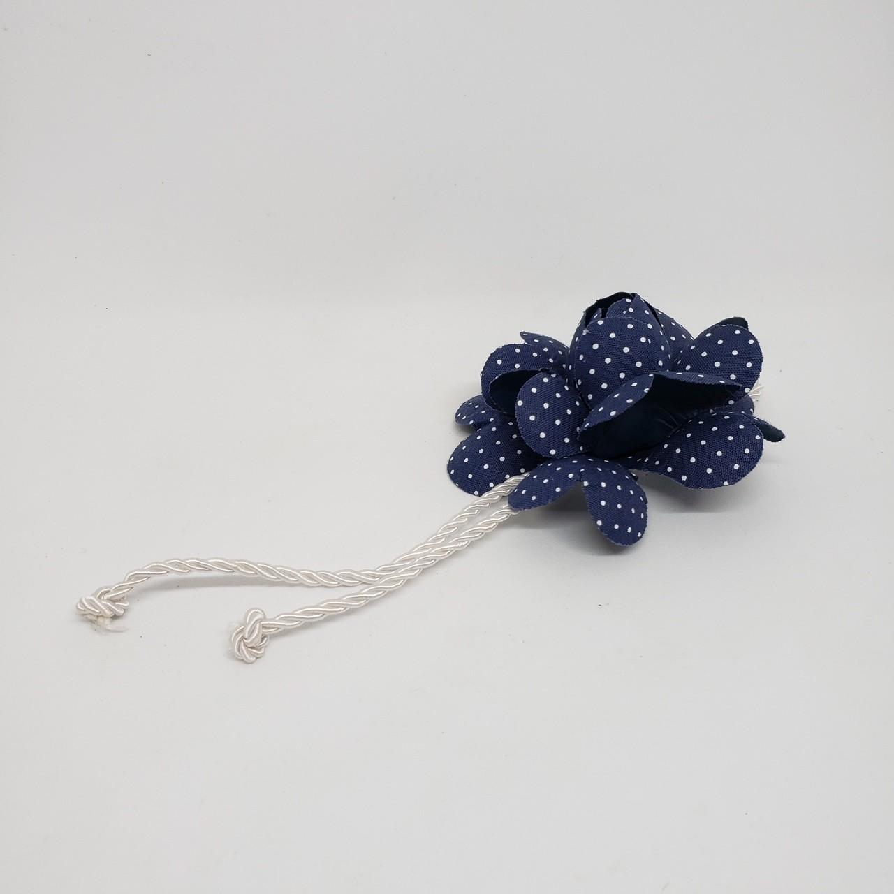 Porta-guardanapo flor azul II