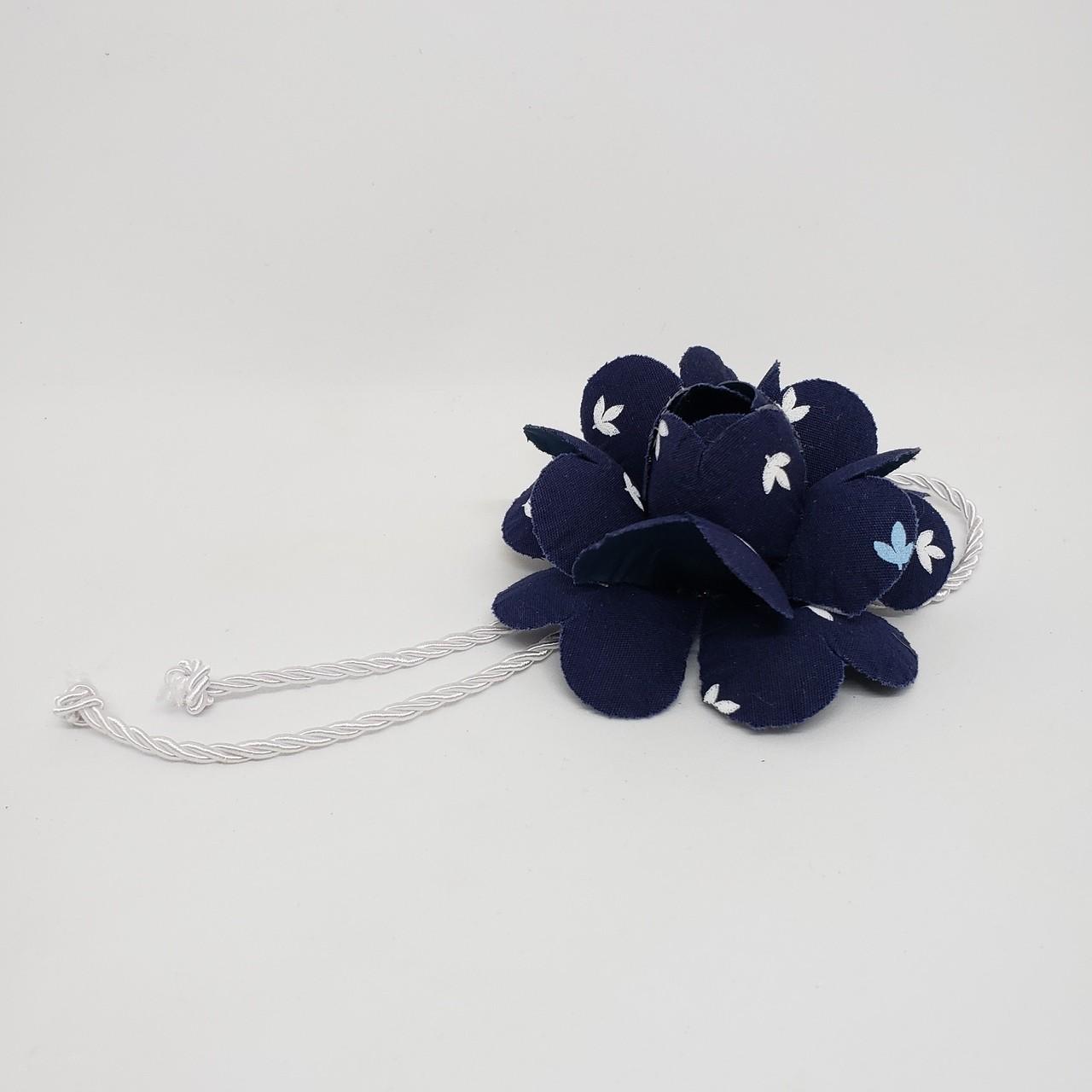 Porta-guardanapo flor azul I