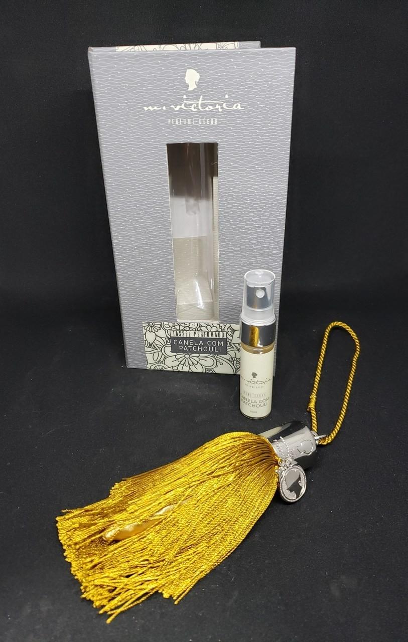 Tassel perfumado canela com patchouli