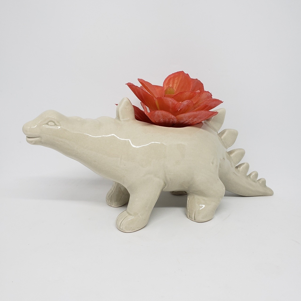 Cachepot dinossauro