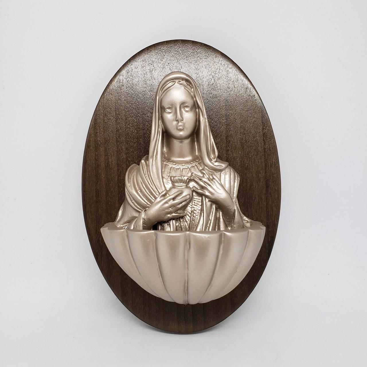 Pia água benta Sagrado Coração de Maria