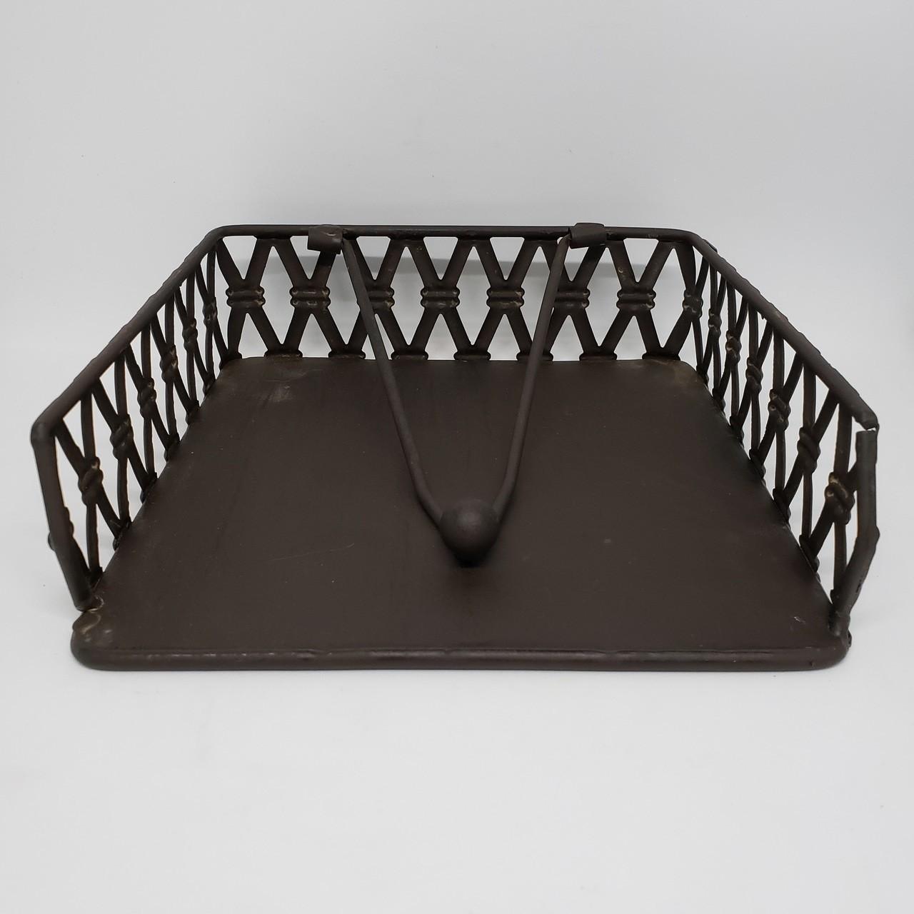 Porta-guardanapo treliça